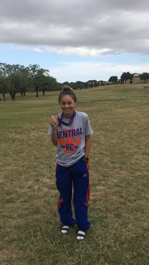 San Angelo Central High School's Cierra  Knott was the Standard-Times Cross Country Runner of the Week for Week 5