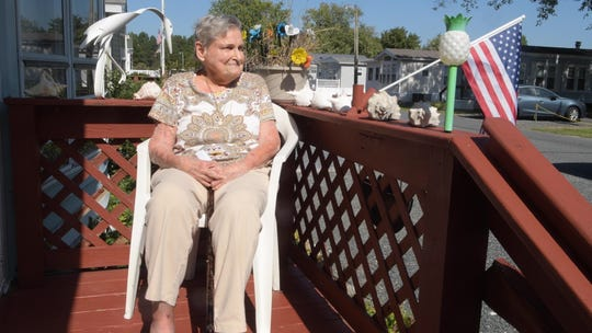 Edie Strafford is a full-time resident at White Horse Park in Berlin. She started living in her home year round after her husband died in 2000. Strafford said if she's forced to move, she doesn't know where she'll go.