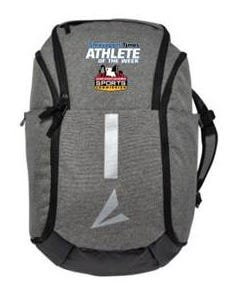 Times Athlete of the Week backpack