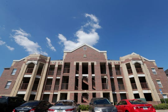 The Florida State University Phi Kappa Tau housing building Thursday, Oct. 3, 2019. The fraternity is suspend for hazing allegations.