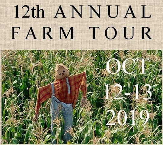 Come explore local agriculture at the 12th Annual Farm Tour on Oct. 12 and 13.
