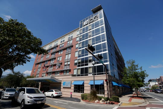 The Aloft Tallahassee on the corner of North Monroe Street and West Call Street Thursday, Oct. 3, 2019.