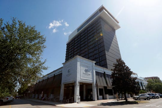 The DoubleTree by Hilton located on the corner of South Adams Street and East Park Avenue Thursday, Oct. 3, 2019.