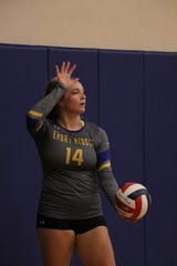 Former Franklin volleyball player Caylee Robalin has shined on the college level.