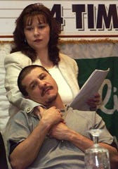 Former World Champion Johnny Tapia along with his manager/wife Teresa Tapia announced the May 6, 2000 championship fight to be held to at the Pan American Center on the campus of New Mexico State University. Teresa Tapia is promoting a fight this weekend in Vado, N.M.