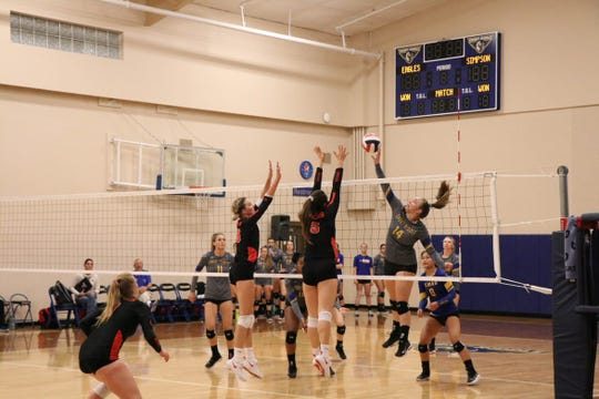 Former Franklin volleyball player Caylee Martinez looks to continue her success on the college level.
