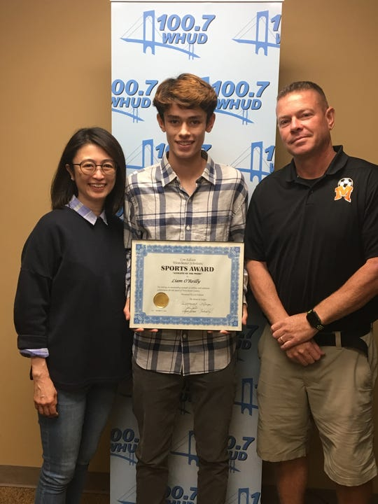 Mamaroneck boys soccer player Liam O'Reilly is the latest Con Edition Athlete of the Week.