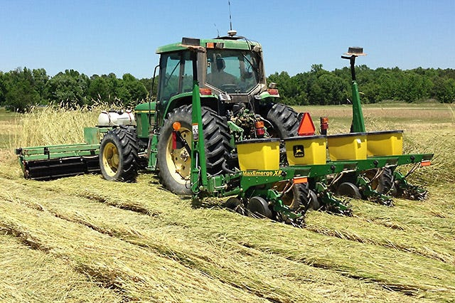 Farmers are raising more food, fibers and producing more renewable fuels using fewer resources and using smarter practices.