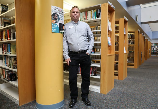 Illinois native Rob Cook has been the marketing and community relations assistant for the Muskingum County Library System for a decade.