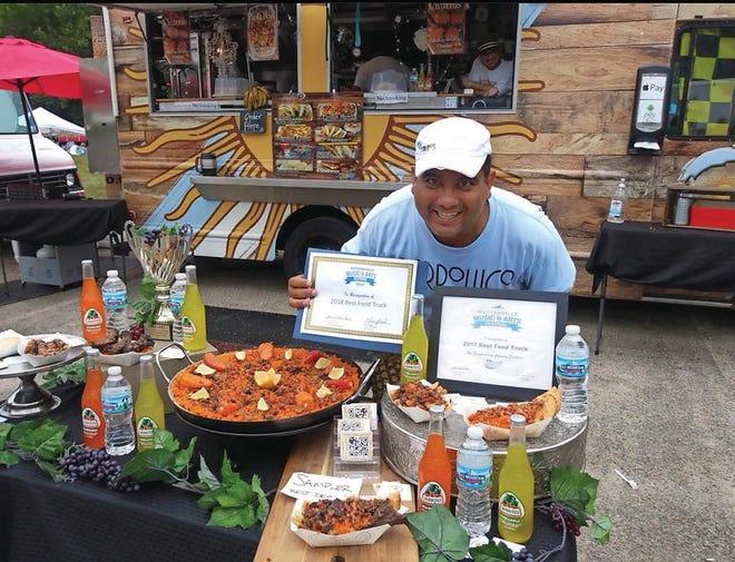 Omar D'Angelo's Argentine food truck has been an award-winning hit.