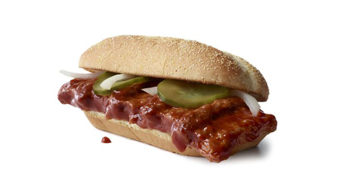 McDonald's McRib is coming back: Barbecue sandwich will be available nationwide for the first time since 2012