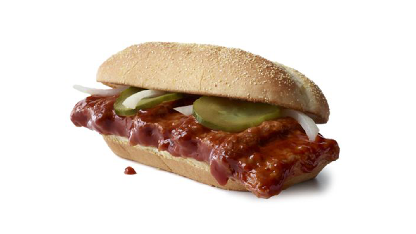 McRib returns Wednesday: McDonald's giving away 10000 free barbecue sandwiches for fans who shave – USA TODAY