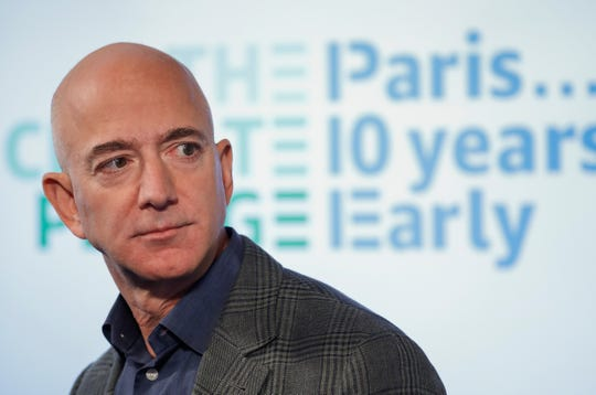 """Forbes released its 38th annual """"Forbes 400"""" list, featuring the 400 richest people in the United States. Check out 18 interesting people who made the 2019 list.   1: Jeff Bezos; Amazon CEO, net worth: $114 billion  Despite Bezos's recent divorce from MacKenzie Bezos, the Amazon CEO still tops The Forbes 400 list. Bezos lost $46 million after the separation."""