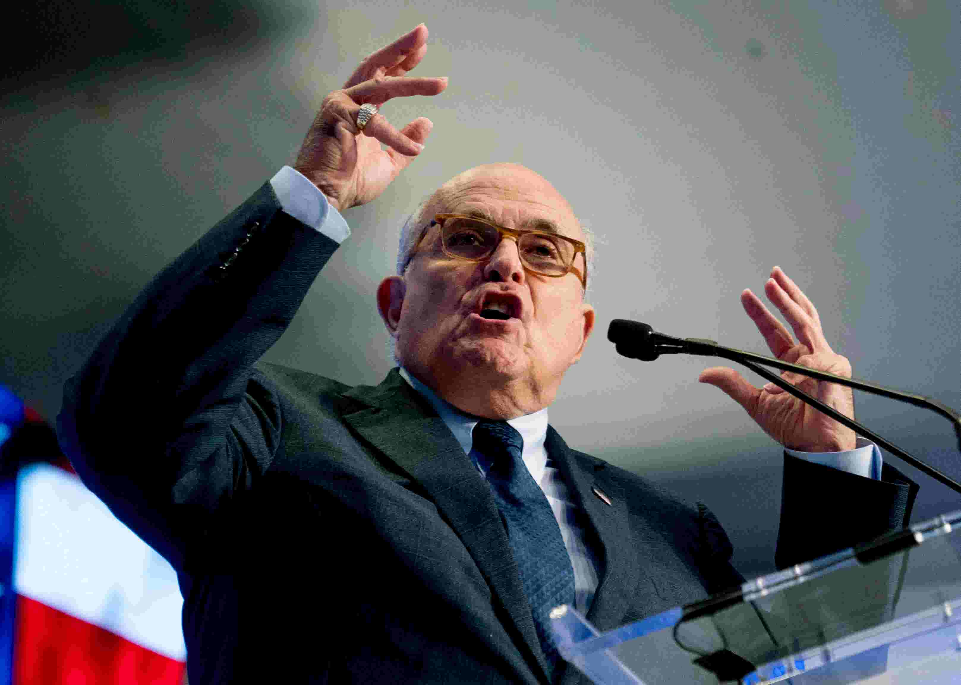 Giuliani associates accused of trying to buy influence with top Nevada GOP candidates