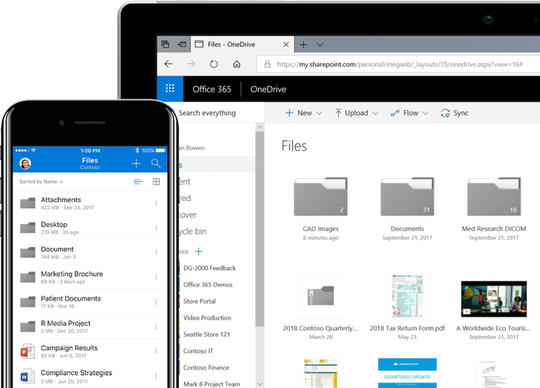 One of the best cloud deals is Microsoft's OneDrive, which gives you 1 terabyte per year along with an Office 365 subscription (as low as $69).
