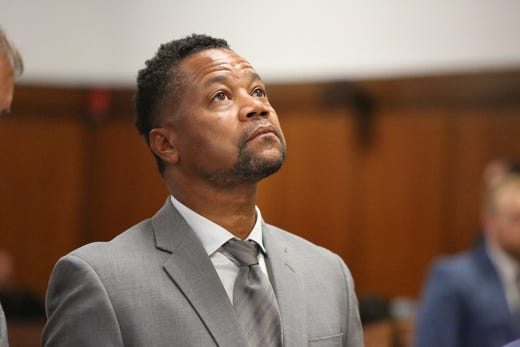 """Cuba Gooding Jr. awaits a trial on misemeanor groping charges, set to begin on April 21.&nbsp; The actor <a href=""""https://www.usatoday.com/story/entertainment/celebrities/2019/10/10/cuba-gooding-jr-trial-groping-case-new-york-city/3908382002/"""" rel=""""noopener"""" target=""""_blank"""">has been indicted on three counts of forcible touching involving three women in Manhattan bars and restaurants</a>&nbsp;in June 2019, October 2018 and September 2018. He has&nbsp;<a href=""""https://www.usatoday.com/story/entertainment/celebrities/2019/10/31/cuba-gooding-jr-faces-new-accuser-charges-court/4108030002/"""" rel=""""noopener"""" target=""""_blank"""">pleaded not guilty</a>&nbsp;to the charges.&nbsp;"""