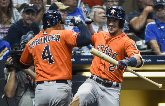 Alex Bregman heads a dangerous Houston Astros lineup.