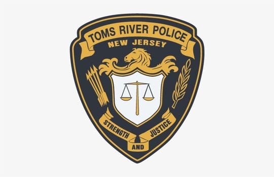 Toms River Police Department Badge