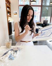 "Carly A. Heitlinger of Madison, New Jersey, known as ""Carly the Prepster"" on Instagram, recently took up needlepoint."