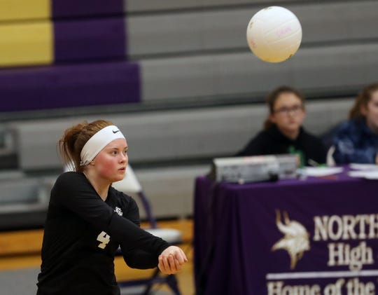 North Mason's Hannah Fredrickson is the Kitsap Sun's volleyball player of the year for 2019.