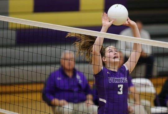 North Kitsap is the top seed in the Olympic League 2A volleyball tournament.
