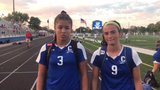 Chillicothe girls soccer defeated Jackson 8-1 on Thursday. Zoe Ford and Addie Erslan discussed the win.