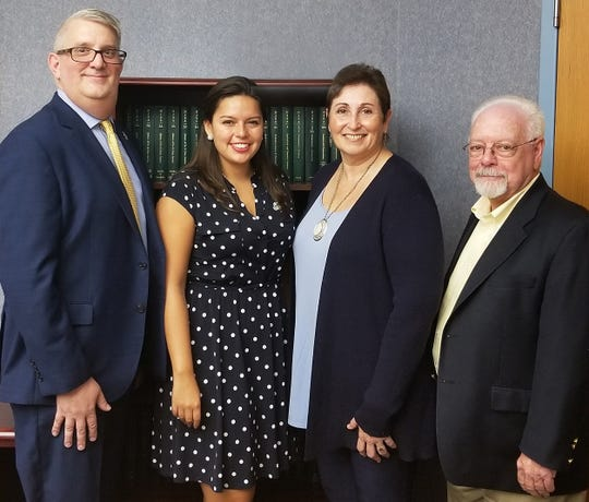 "Participating in the Friday, Sept. 13, ""Creating Vibrant Neighborhoods"" workshop were (left to right) Somerset County Planning Director Walter Lane, Freeholder Sara Sooy, Energy Council Vice Chair Jeanne Perantoni and Planning Board Chairman Bernard Navatto Jr."