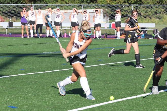 Monroe field hockey player Kamryn Dalton was voted the MyCentralJersey.com Athlete of the Week.