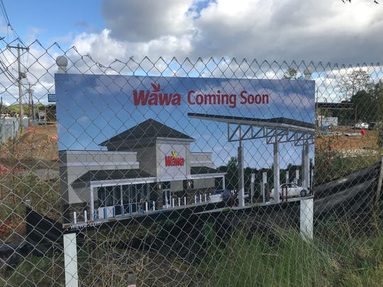Construction has begun atWawa on Route 9 North in the borough
