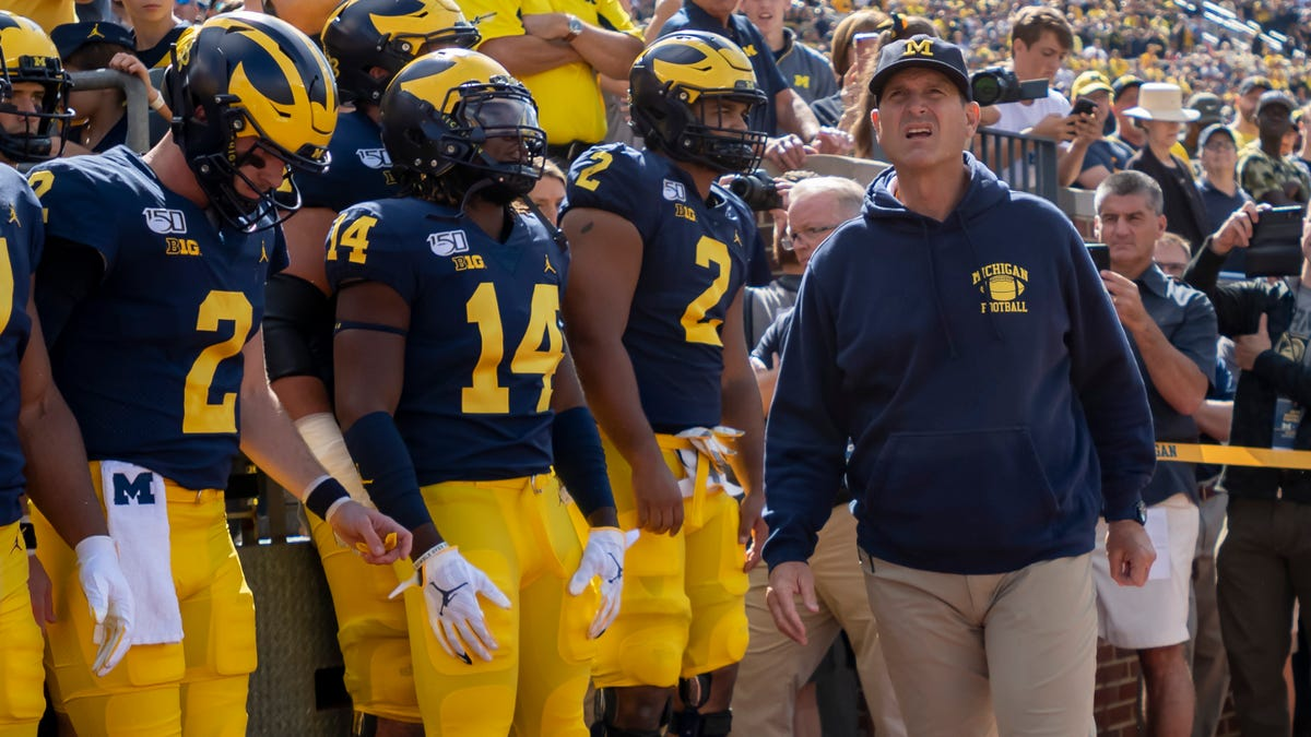 UM football story lines: The heat is on Jim Harbaugh in season seven 1