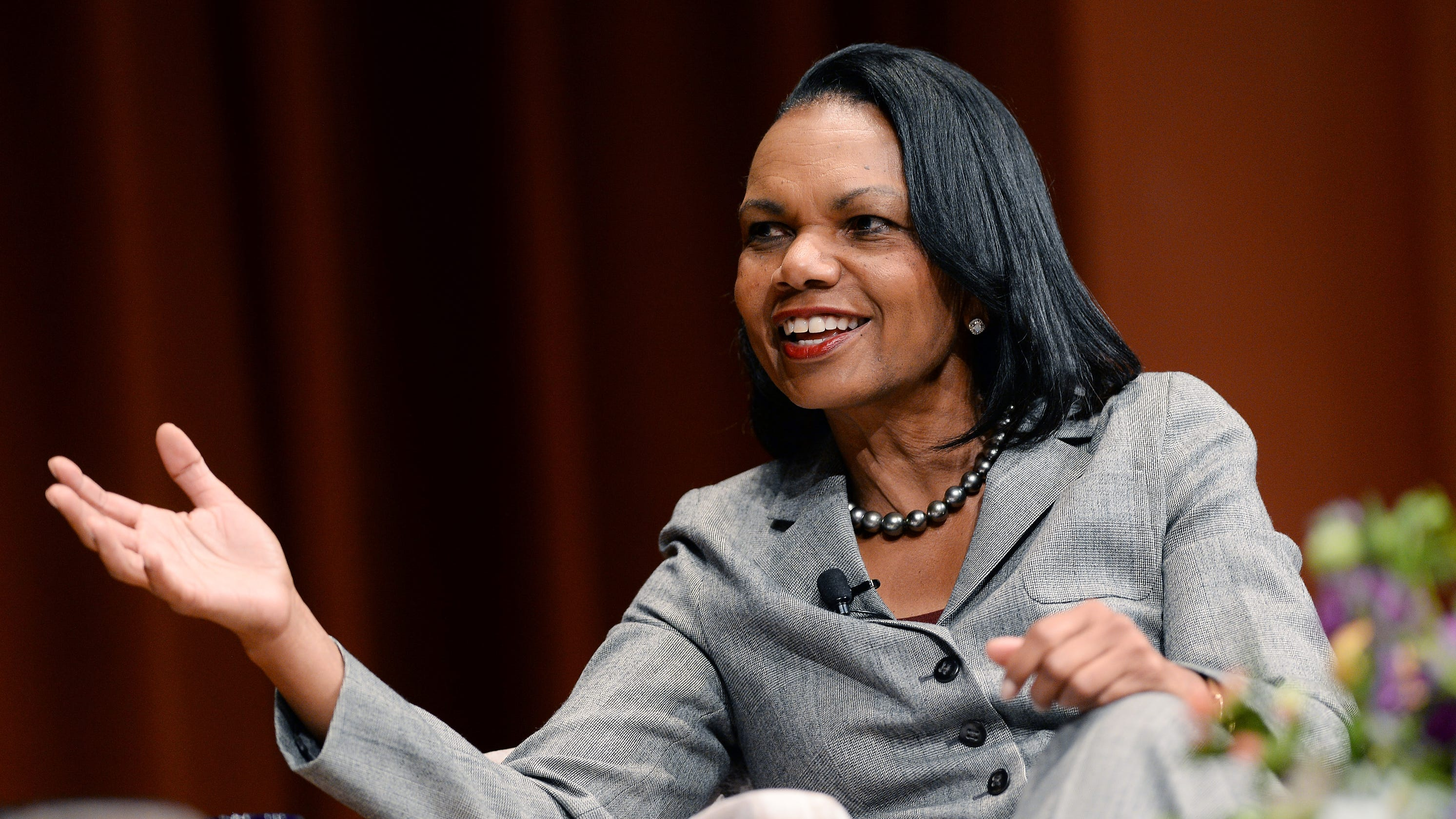 Condoleezza Rice to Trump: Don't always try to be your own adviser