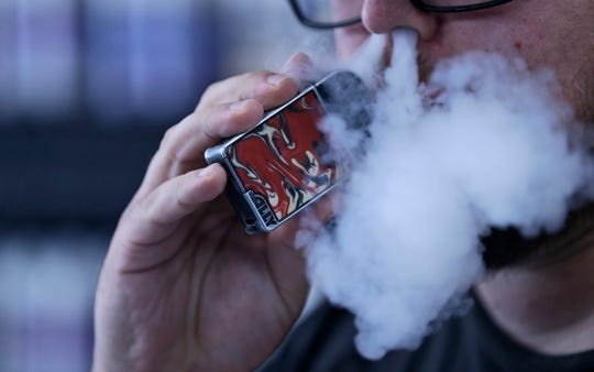 Most of the Michigan individuals with the vaping-related lung injury have been hospitalized for severe respiratory illness.