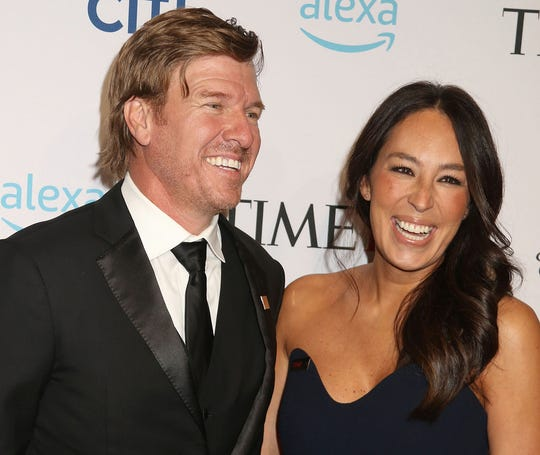 Chip and Joanna Gaines attend the TIME 100 Gala at the Time Warner Center in New York on April 23, 2019.