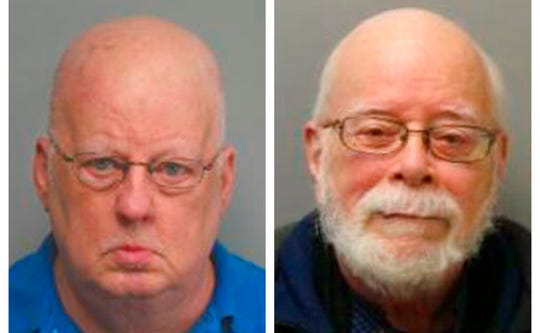 James Alan Funke and Jerome Bernard Robben. Three decades earlier, Funke, a Catholic priest; and Robben, a fellow teacher at a St. Louis Catholic high school, went to prison for sexually abusing male students together.