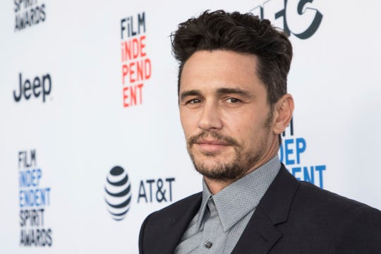 FILE - This Jan. 6, 2018 file photo shows James Franco at the 33rd Annual Film Independent Spirit Award Nominee Brunch in Los Angeles.