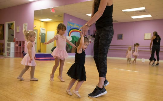 Kelly Sigler's non-competitive studio holds dance classes in expressive, ballet, jazz, tap, lyrical and contemporary, technique/pre-point, hip-hop, acro, leaps and turns, and pointe.