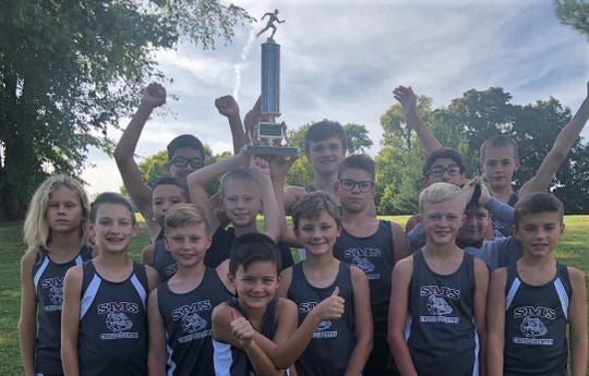 The South Middle School boys team won the Junior Colonel Cross Country championships on Sept. 24 at Municipal Golf Course.