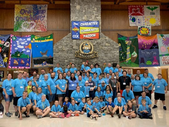 Thirty-three families -- 26 from Henderson, Union, Webster and Hopkins counties, attended a camp in Scottsville, Ky., for children with an autism diagnosis.
