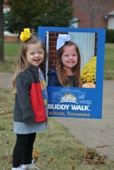 Neely Thetford was one of the featured walkers in last year's Buddy Walk.