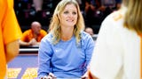 Tennessee Lady Vols basketball coach Kelli Harper on returning to SEC Media Day for the first time since 1998