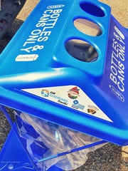 There will be recycling bins around Girard Park for Festivals Acadiens et Creoles .