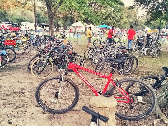 A free bike corral, manned by Bike Lafayette, will be offered at Festivals Acadiens et Creole.