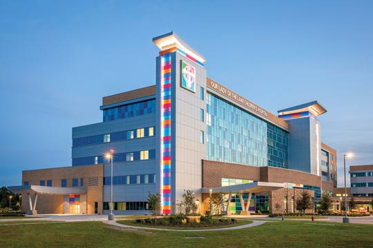 The Our Lady of the Lake Children's Hospital in Baton Rouge held a ribbon cutting ceremony Friday morning.