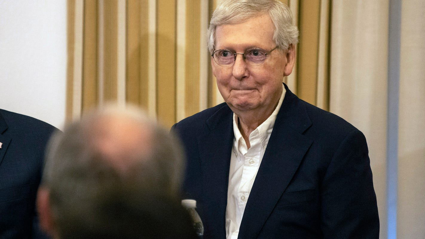 In campaign ad, Mitch McConnell says impeachment will fail 'with me as majority leader'