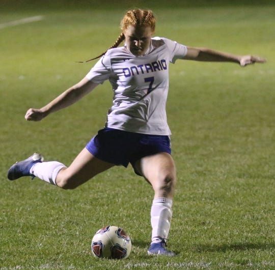 Ontario's Ava Ruhe is back for her junior season after excelling in soccer and swimming.