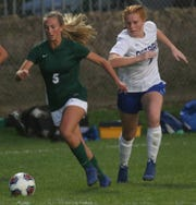 Madison's Phyllis Stanfield scored the second goal of the game for the Lady Rams in a 4-2 win over Ontario on Thursday night.