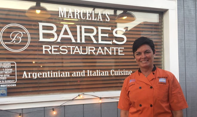 Marcela Barrios, owner of Marcela's Baires Restaurante, grew up in Argentina, but chose to make Marion her home for her family.