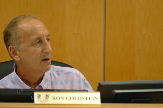 Chairperson of the Planning Board,  Ron Goldstein, said Friday the ordinance as written would allow property owners to double the amount of signs they can put in front of their homes.