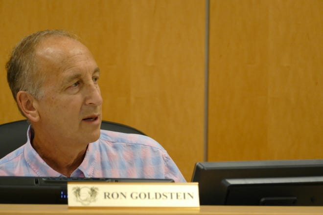 Ron Goldstein, chairperson of Marco Island's Planning Board, said in an Oct. 4 meeting that the original ordinance proposed by city staff would allow owners to double the amount of signs they can put in front of their properties.