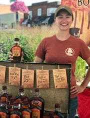 Bree Breckel, co-founder of B&E's Trees in the Driftless Area, is one of 270 licensed maple syrup producers in Wisconsin, the fourth largest maple syrup producing state in the nation.